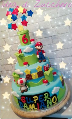 Super Mario Bros Cake More