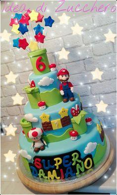 Super Mario Bros Cake                                                                                                                                                                                 More