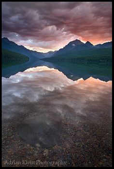 Glacier National Park,Montana. I love that you have to look twice
