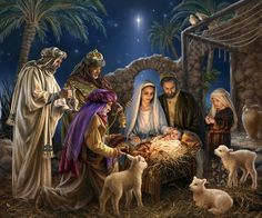The Nativity by Dona Gelsinger