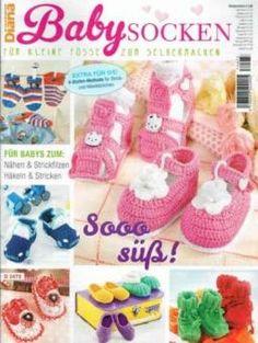 Diana special - Babysocken D2473 | Martinas Bastel- & Hobbykiste