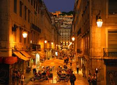 Downtown Lisbon, Portugal (by Matilde B.)