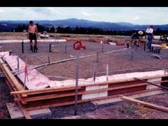Building and Living Off the Grid in an Idaho Strawbale Home - YouTube