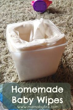 These Homemade baby wipes completely got rid of my eczema.