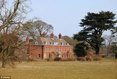 New home: Prince William wanted to show his in-laws around Anmer Hall on the Sandringham e...