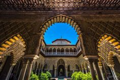 #topbestphotos building #spain #royal #architecture #seville #andalusia #arches #alcazars #travel #placestosee