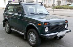 Lada Niva - This is what I learned to drive in. Uncomfortable as hell, but took a beating!