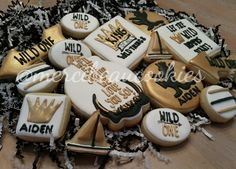 Where the wild things are cookies by @mercibeaucookies
