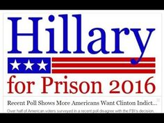 Recent Poll Shows More Americans Want Clinton Indicted than Want Her to ...