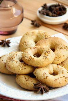 Easy middle eastern aniseed cookies!