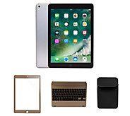 Apple New 2017 iPad 32GB Wi-Fi w/ Bluetooth Keyboard & Case - E231084