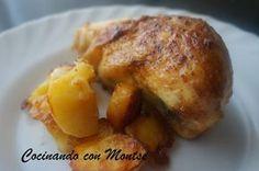 Pollo al horno con curry