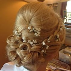 Tiffany was such a beautiful bride today! #bridalhair #bohemianbride #braid #updo #veilofgrace #bohobride #wedding @veilofgrace #olivertaylor2014