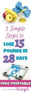 Are you struggling to lose weight? I have a solution! This post shares how implemented 3 simple steps to lose 15 pounds in 28 Days! | Lose Weight Fast | Workout Tips | Healthy Eating | Healthy Living | How to Lose Weight | Get Paid to Lose Weight #loseweightfast #weightlossbeforeandafter #healthyeating #healthyliving #fitnessgoals #fitnessmotivation