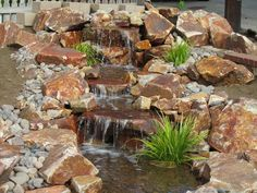 diy water features | Join KRC Rock San Marcos for a Do-It-Yourself pondless waterfall ...
