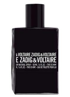 This is Him Zadig & Voltaire cologne - a new fragrance for men 2016 • The dark, oriental - woody This is Him is made of grapefruit aroma, black pepper, incense, milky sandalwood and vanilla.