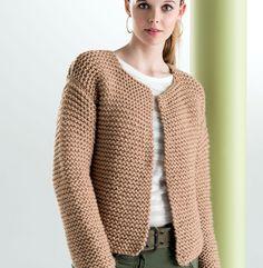 pull en tricot femme Archives - Page 2 of 15 - vetement breton Cardigan Pattern, Crochet Cardigan, Knit Crochet, Crochet Bodies, Knit Jacket, Easy Knitting, Knit Fashion, Knit Patterns, Point Mousse