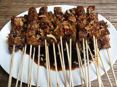 New recipes pork chop comfort foods Ideas Chicken Rice Recipes, Pork Recipes, Asian Recipes, New Recipes, Drink Recipes, Recipes Breakfast French Toast, Kebab Skewers, Healthy Meats, Indonesian Cuisine