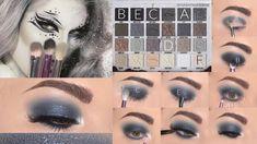 Jeffree Star Eyeshadow, Jeffree Star Palette, Eyeshadow Makeup, Makeup Geek, Eye Makeup Steps, Makeup Eye Looks, Beautiful Eye Makeup, Eye Makeup Designs, Makeup Ideas