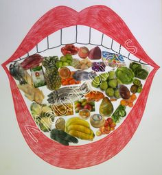 Nutrition Guide for Diabetics Post: 8038128872 - Healthy Food Art Healthy And Unhealthy Food, Healthy Teeth, Human Body Crafts, Health Blog, Art For Kids, Crafts For Kids, Hygiene, Food Themes, Food Crafts