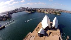 Dramatic angles that fully encompass the Sydney experience, these panoramic aerial shots provide a unique perspective of one of our greatest national treasures!