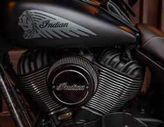 Exceptional 2016 Indian Chief Dark Horse Motorcycle   Thunder Black Smoke : Features