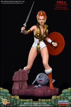 Masters of the Universe Teela PCS Exclusive Edition Statue