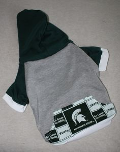 NEW Michigan State University Dog Hoodie in Medium by RagtheDog, $16.00