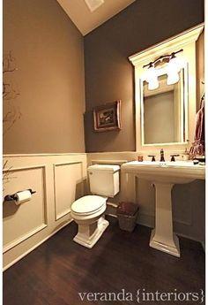 1000 images about powder bath on pinterest powder rooms for Mocha bathroom ideas