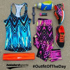 Rule the road in style with today's #outfitoftheday from ASICS.  Grab this #runninggear and more today!   #Asics #AsicsRunning #Kinsei6 #Garmin #CamelBak #Nuun #FlipBelt #OOTD #RunningOutfit #Outfit