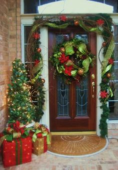 Decked out doors. Love.