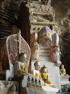 Southern Myanmar: Hpa-An with beautiful surroundings