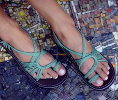 """Over 1,700 Amazon reviewers swear by these handcrafted, rubber-soled wonders.Promising review: """"I bought these for a trip to New Orleans, which involved lots and lots of walking in high humidity. I literally got compliments on them everywhere we went, and they were so comfortable I could wear them all day. We walked miles and miles and my feet didn't hurt (which is a small miracle given that I have arthritis). They're surprisingly durable and the woven fabric is incredibly soft. Even when my…"""