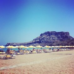 Agathi Beach #rhodes #greece