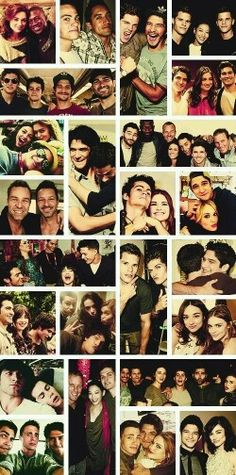 The cast of Teen Wolf