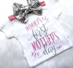 Mother's Day outfit, Mother's Day shirt, happy Mother's Day, girls Mother's Day outfit, first Mother's Day, my first Mother's Day, mama by PerfectlyPINKBow on Etsy https://www.etsy.com/listing/588885642/mothers-day-outfit-mothers-day-shirt
