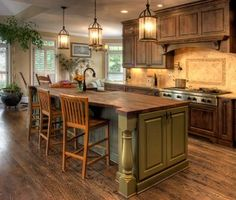 classic french country kitchen