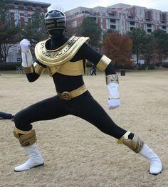 Gold Power Ranger.