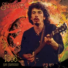 Santana - 1968 San Francisco on Limited Edition Colored LP