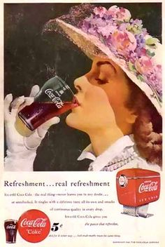 Vintage Coke/ Coca-Cola Advertisements of the (Page Coca Cola Poster, Coca Cola Ad, Always Coca Cola, Pepsi, Coca Cola Vintage, Vintage Advertisements, Vintage Ads, Vintage Posters, Vintage Signs