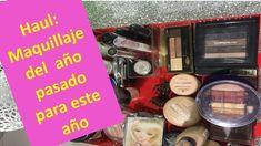 Haul: maquillaje del año pasado para este año