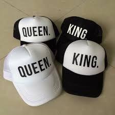 Resultado de imagen para gorras king queen Gorras De Pareja c33b555d47c