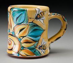 Karin Kraemer. Bee Mug.