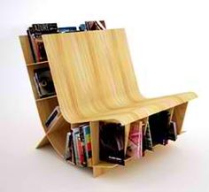 Book Chair...I want this for me and my mom!