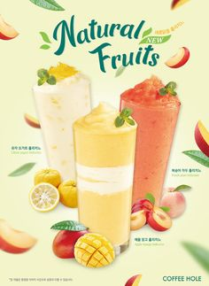 My design-홀리치노 여름음료 food poster – Dinner Food Food Graphic Design, Food Menu Design, Food Poster Design, Top Drinks, Summer Drinks, Juice Menu, Cafe Posters, Ice Cream Poster, Jugo Natural