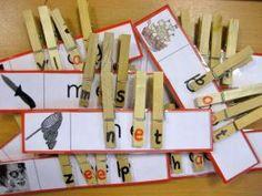 Wat een mooi idee van juf Florine :: florinehorizon.yurls.net Montessori Activities, Kindergarten Activities, Busy Boxes, Back 2 School, Letter Sounds, Reggio Emilia, Play To Learn, Working With Children, Kids And Parenting
