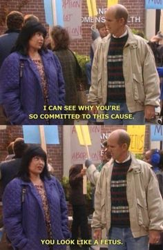 She's understanding. | 21 Times Roseanne Conner Was Basically All Of Us