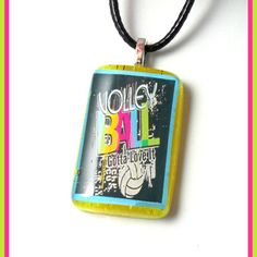 Volleyball Charmer Necklace from Peanut Butter n Jewels for $5 on Square Market