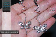 #freeshipping #butterfly #floral #design #jewellery #earrings #jewelry #joyas #mujer #woman #moda #gift #silver #925 #silver925 #collection #fashion #σκουλαρικια #ασημενια #ασημι925 #πεταλουδες #λουλουδια #design #δωρεαν #μεταφορικα #αντικαταβολη Birthday Woman, Butterfly Earrings, Sterling Silver Earrings, Jewelry Art, Belly Button Rings, Best Gifts, Handmade Jewelry, Anniversary, White Gold