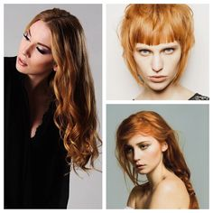 Lately the softer side of red has trended toward rosy hues: strawberry blonde, apricot, and rose gold. This is the warmer, earthier side of titian, a spicy copper gold redolent of cumin and turmeri...